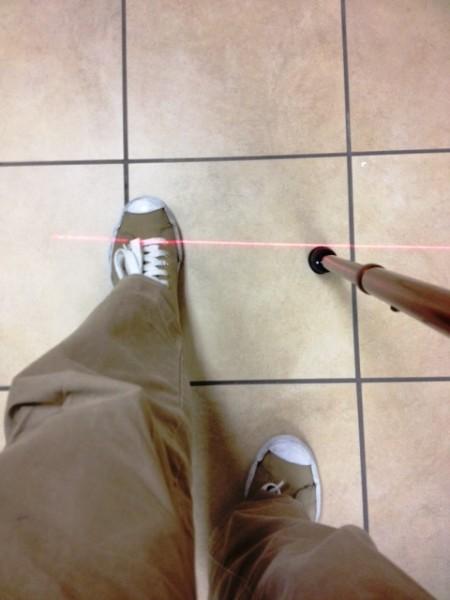 Laser cane