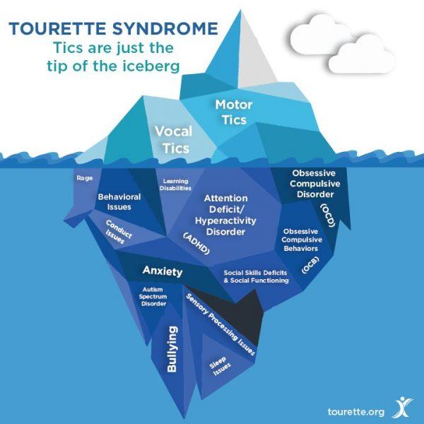 Tourette Association Iceberg