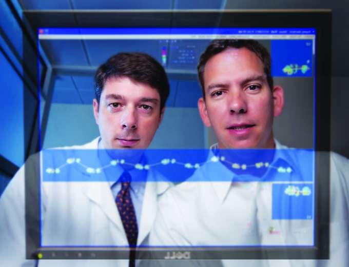 Doctors examining gait