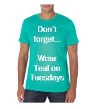 wear teal